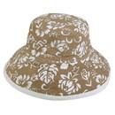Custom FLORAL Floral Hat, 100% Cotton/Canvas