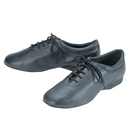 Go Go Dance Shoes, Practice , Black Leather - GO5010