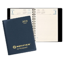Custom DB-23 Daily Desk Planners, Continental Vinyl Covers, 5 1/2 x 8 1/2 inch