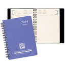 Custom DB-24 Daily Desk Planners, Twilight Covers, 5 1/2 x 8 1/2 inch