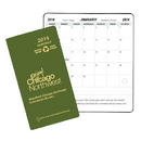 Custom MB-1G Monthly Pocket Planners, Ecomaxx, 3 1/2 x 6 1/2 inch