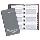 Custom PA-15 Medium Address Books, Frosted Vinyl Covers, 3 1/2 x 6 1/2 inch, Wire-Bound