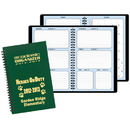 Custom SCO-21 Academic Weekly Planners, Leatherette Covers, 5 1/2 x 8 1/2 inch, Wire-Bound