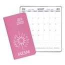 Custom SMB-14 Academic Monthly Planners, Twilight Academic Monthly Pocket, 3 1/2 x 6 1/2 inch, Saddle-Stitched