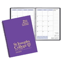 Custom SMB-30 Academic Monthly Planners, Technocolor Academic Monthly Desk, 8 1/2 x 11 inch, Wire-Bound
