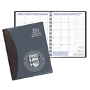 Custom SMB-37 Academic Monthly Planners, Carriage Vinyl Academic Monthly Desk, 8 1/2 x 11 inch, Wire-Bound