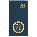 Custom SWB-13 Academic Weekly Planners, Continental Vinyl Academic Weekly Pocket, 3 1/2 x 6 1/2 inch, Smyth Sewn