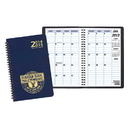 Custom TYP-21 Two Year Desk Planners, Leatherette Covers, 5 1/2 x 8 1/2 inch