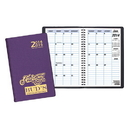 Custom TYP-25 Two Year Desk Planners, Frosted Vinyl Covers, 5 1/2 x 8 1/2 inch