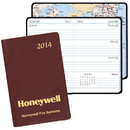 Custom WB-43 Mini Weekly Pocket Planner, Continental Vinyl Covers, 2 3/4 x 4 1/8 inch, Smyth Sewn