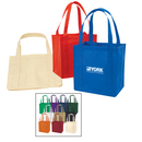 STOPNGO Line Custom Non-Woven Polypropylene Tote Bag with Plastic Bottom, 12