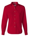 Featherlite 5283 Ladies' Long Sleeve Stain Resistant Tapered Twill Shirt