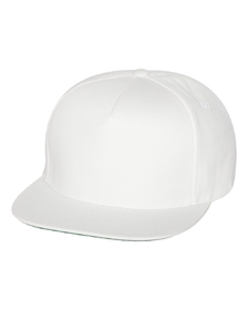 Yupoong 6007 5-Panel Flat Bill Cap, Price/each