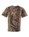 Code V 2280 Youth Realtree Camouflage Short Sleeve T-Shirt