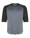Badger 2133 Youth B-Core 3/4 Sleeve Baseball Undershirt
