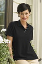 100% Combed Cotton Women's Elite Pique Polo - Imprinted
