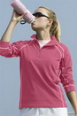 Women's Vansport Lightweight Waffle 1/4 Zip - Imprinted