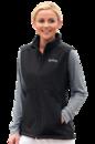Women's Elasticized Drawcord Bottom Quest Bonded Vest - Imprinted