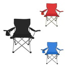 Custom Folding Outdoor Chair W/ Cup Holder