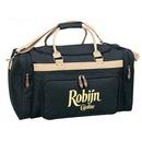 Custom Two-Tone Deluxe Travel Bag