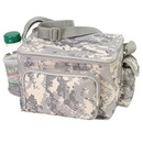 Custom Digital Camo 6-Pack Cooler W/ Bottle Holder And Cell Phone Pouch