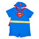TopTie Toddler Boys' Superman Swimsuit /Bath Suit /Costume, One-Piece Swimwear