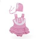 Toptie Toddler Girls' Swimsuit, Lovely Dress Style