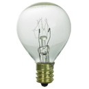 Sunlite 01610-SU 10 Watt G11 Globe Light Bulb, Candelabra Base, Clear