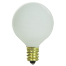 Sunlite 01615-SU 10 Watt G11 Globe Light Bulb, Candelabra Base, White
