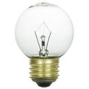 Sunlite 01700-SU 40 Watt G16 Globe Light Bulb, Medium Base, Clear