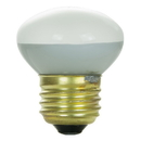 Sunlite 01825-SU 25 Watt R14 Reflector Light Bulb, Medium Base, Frost