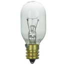 Sunlite 01915-SU 15 Watt T7 Tubular Light Bulb, Candelabra Base, Clear