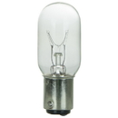 Sunlite 01925-SU 15 Watt T7 Tubular Light Bulb, Double Contact Bayonet Base, Clear
