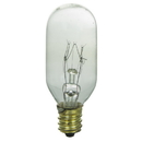 Sunlite 01928-SU 25 Watt T8 Tubular Light Bulb, Candelabra Base, Clear