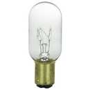 Sunlite 01935-SU 25 Watt T8 Tubular Light Bulb, Double Contact Bayonet Base, Clear