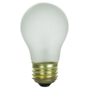 Sunlite 02040-SU 40 Watt A15 Appliance Light Bulb, Medium Base, Frost