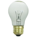 Sunlite 02045-SU 40 Watt A15 Appliance Light Bulb, Medium Base, Clear