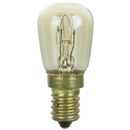 Sunlite 02150-SU 15 Watt PRE Light Bulb, European Base, Clear