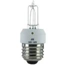 Sunlite 03065-SU 100JDE/CL/MED 100 Watt Single Ended T4 Halogen Bulb, Medium Base