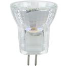 Sunlite 03192-SU 20MR8/CG/G4/FL/12V 20 Watt MR8 Mini Reflector Halogen Bulb, Bi-Pin Base