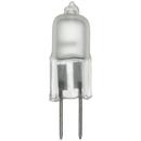 Sunlite 03258-SU Q20/FR/G4/12V 20 Watt Single Ended T2.5 Halogen Bulb, Bi-Pin Base, Frost