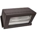 Sunlite 04927-SU 100 Watt Cut Off Style Wall Pack, Bronze Powder Finish, Clear High Impact Tempered Glass