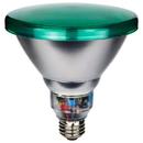 Sunlite 05367-SU SL23PAR38/G 23 Watt Colored PAR38 Reflector Energy Saving Light Bulb, Medium Base, Green