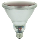 Sunlite 05372-SU SL23PAR38/R 23 Watt Colored PAR38 Reflector Energy Saving Light Bulb, Medium Base, Red
