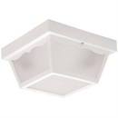 Sunlite 48238-SU Decorative Outdoor Energy Saving Century Collection Fixture, White Finish, Frosted Lens