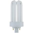 Sunlite 60500-SU 18 Watt PLT 4-Pin Triple Tube GX24Q-2 Base Plugin Light Bulb, Warm White