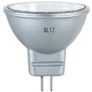 Sunlite 66150-SU 20MR11/CG/GU4/NFL/12V/SB 20 Watt Silver Back MR11 Mini Reflector Halogen Bulb, GU4 Base