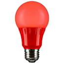 Sunlite 80148-SU Red Led Light Bulb, Medium Base