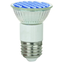 Sunlite 80195-SU Mr16 Colored Mini Reflector, 80 Lumens, Medium Base Light Bulb, Blue