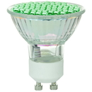 Sunlite 80327-SU Mr16 Colored Mini Reflector, Gu10 Base Light Bulb, Green